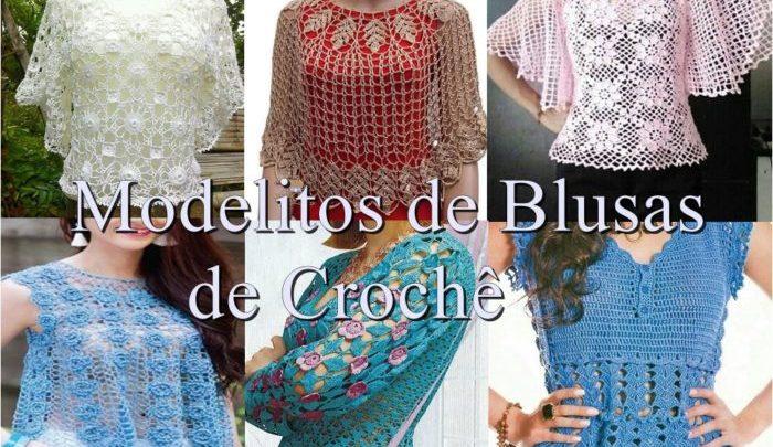 Blusas de Crochê – Alguns Modelos para você fazer e Aproveitar seu Tempo Livre