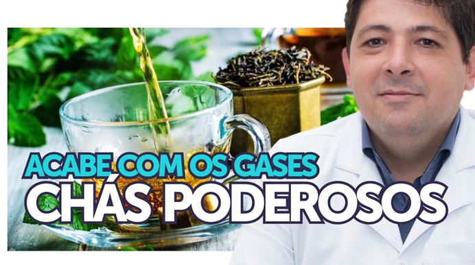 Chás para Eliminar os Gases e o Inchaço Abdominal