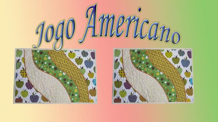 Jogo Americano Feito em Tecido Tricoline com Desenho Único