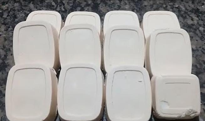 Sabão Branco de Coco Perfumado