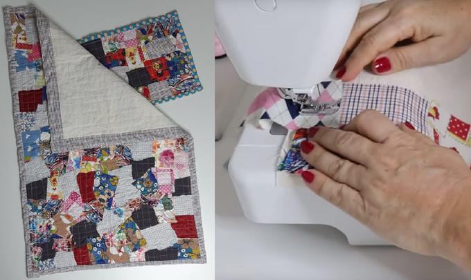 Como Fazer Tapete Simples com Retalhos de Tecido